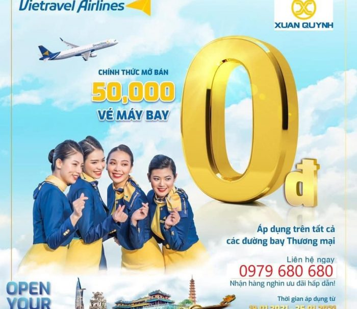 Hang vietravel airlines